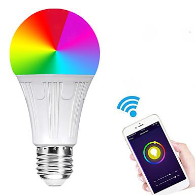 olcso Intelligens Lights-Az e27 7w vezette okos wifi izzók gyöngyök smd 5730 működik az amazon alexa / app vezérléssel / google home rgbw 85-265v