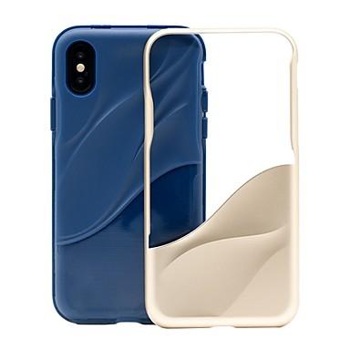 voordelige Galaxy Note-serie hoesjes / covers-hoesje Voor Samsung Galaxy Note 8 Schokbestendig / Stofbestendig / Waterbestendig Achterkant Lijnen / golven Zacht TPU / PC