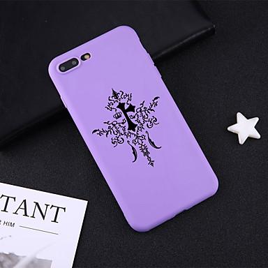 voordelige iPhone 6 hoesjes-hoesje Voor Apple iPhone XS / iPhone XR / iPhone XS Max Patroon Achterkant Geometrisch patroon / Punk Zacht TPU