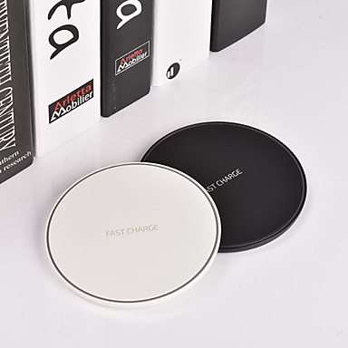 Недорогие Беспроводные зарядные устройства-Беспроводное зарядное устройство Зарядное устройство USB USB Беспроводное зарядное устройство / Qi 1 USB порт 1.1 A DC 9V для iPhone X / iPhone 8 Pluss / iPhone 8