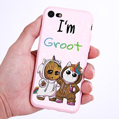 voordelige iPhone X hoesjes-hoesje Voor Apple iPhone XS / iPhone XR / iPhone XS Max Patroon Achterkant Eenhoorn / dier / Cartoon Zacht TPU