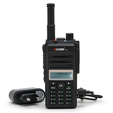 olcso Walkie Talkies-elida® cd880 2g 3G GSM wcdma wifi walkie talkie SIM kártya gps pozícionálással kétirányú rádióhálózati rádió-hangszóró 200 km