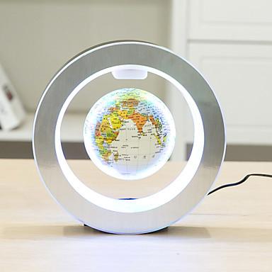 povoljno Noviteti-novitet okrugli vodio kartu svijeta plutajući globus magnetska levitacija svjetlo antigravitacijske magije / nove lampe
