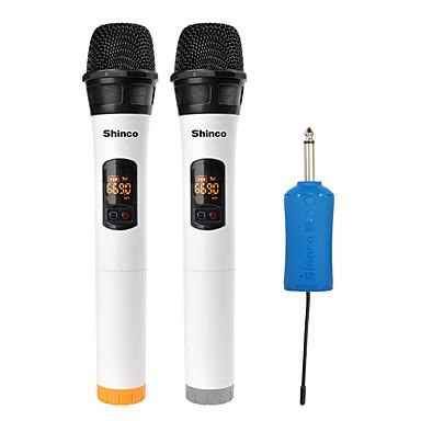 olcso Mikrofonok-6.3mm3.5mm bemeneti port vezeték nélküli mikrofon dinamikus mikrofon kézi mikrofon karaoke mikrofon