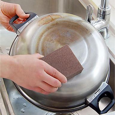 مطبخ معدات تنظيف اسفنج / المواد الخاصة قطع و فراشي التنظيف المطبخ الإبداعية أداة 1PC