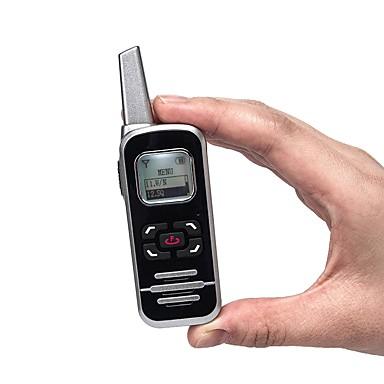 m6p اتجاهين الاذاعة 128 قناة 400-520 ميجا هرتز مع شاشة lcd هام fm راديو ميني اسلكي تخاطب لمطعم / الفندق / المدرسة