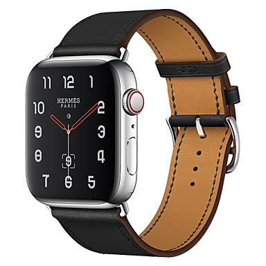 cheap Apple Watch Bands-Watch Band for Apple Watch Series 5/4/3/2/1 Apple Business Band Genuine Leather Wrist Strap