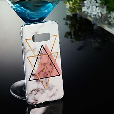 voordelige Galaxy S-serie hoesjes / covers-hoesje Voor Samsung Galaxy S9 / S9 Plus / S8 Plus Patroon Achterkant Marmer Zacht TPU