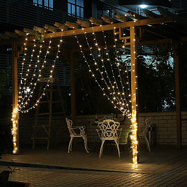 20 99 Holiday Decorations Nieuwjaar Valentijnsdag Kerstverlichting Kerstversieringen Led Lamp Decoratief Wit Kleurbalk Warm Wit 1pc