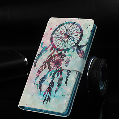 povoljno Maske/futrole za Galaxy S seriju-Θήκη Za Samsung Galaxy Galaxy S10 / Galaxy S10 Plus / Galaxy S10 E Novčanik / Utor za kartice / sa stalkom Korice Hvatač snova Tvrdo PU koža