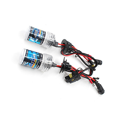 voordelige Autokoplampen-2pcs H11 Automatisch Lampen Krachtige LED 3600 lm HID Xenon Koplamp Voor Alle jaren