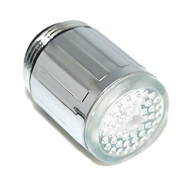 olcso LED csapvilágítás-led víz csapvíz fény színes változó izzó zuhany fej konyhai csap aerators