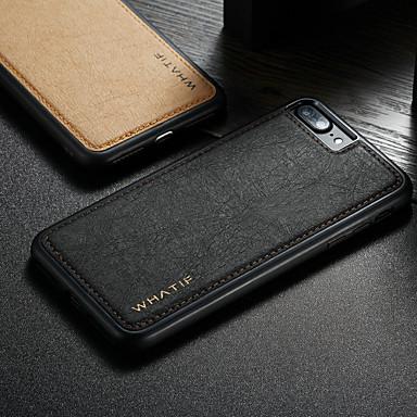 Недорогие Кейсы для iPhone-Caseme чехол для Apple Iphone 8 Plus / Iphone 7 Plus водонепроницаемый / противоударный / DIY задняя крышка сплошной цвет твёрдой кожи