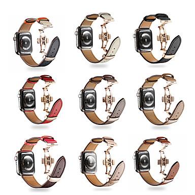 Недорогие Аксессуары для смарт-часов-Плетёный браслет SmartWatch для Apple Watch серии 4/3/2/1 современный ремешок с пряжкой iwatch