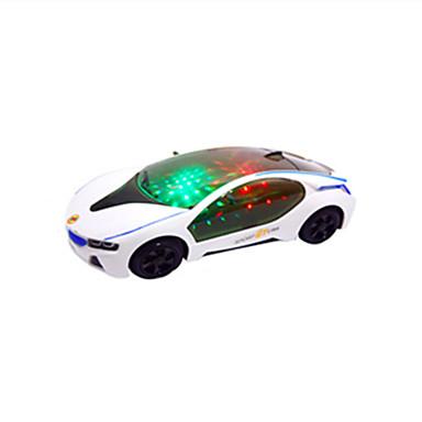 olcso Világító játékok-LED világítás Versenyautó Klasszikus téma / Ünneő / Járművek Világítás / Motorizált / Új design Fiú / Lány Gyermek Ajándék