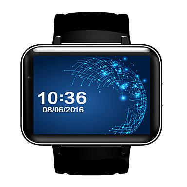 رخيصةأون ساعات ذكية-DM98 رجالي سمارت ووتش Android iOS بلوتوث GPS Smart رياضات ضد الماء شاشة لمس المشي عداد الخطى تذكرة بالاتصال متتبع النشاط متتبع النوم / رمادي داكن / إسبات الطويل / مكالمات بدون يد / ألعاب / 13 MP