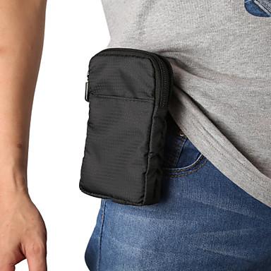 Недорогие Универсальные чехлы и сумочки-6 / 6,9-дюймовый чехол для универсальной карты-держателя для талии / поясной сумки из сплошного нейлона