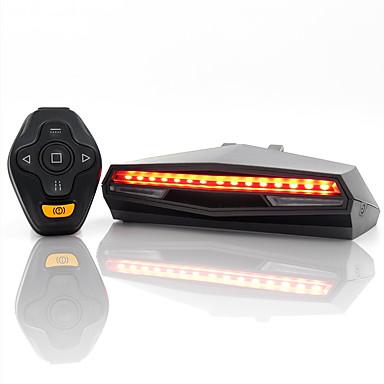 povoljno Noviteti-bežično svjetlo za bicikl-led, pametno usb punjivo daljinsko skretanje stražnjeg laserskog signalnog svjetla