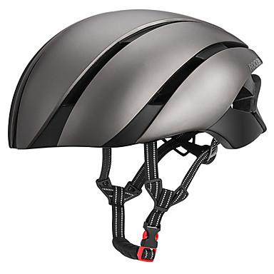 ROCKBROS Odrasli Bike kaciga 8 Ventilacijski otvori CE Integralno oblikovana ESP + PC Sportski Cestovni bicikl Mountain Bike Biciklizam / Bicikl - Crna / crvena Svjetlosmeđ Plava i Crna Muškarci