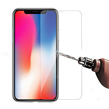 voordelige iPhone 8 screenprotectors-AppleScreen ProtectoriPhone XS High-Definition (HD) Voorkant screenprotector 1 stuks Gehard Glas