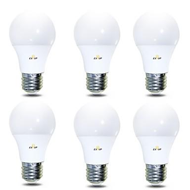 EXUP® 6PCS 7 W مصابيح كروية LED 680 lm B22 E26 / E27 14 الخرز LED SMD 2835 أبيض دافئ أبيض كول 220-240 V 110-130 V