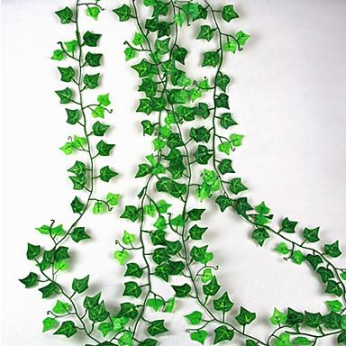 زهور اصطناعية 1 فرع معلقة على الحائط معلق الزفاف النمط الرعوي نباتات أزهار الحائط