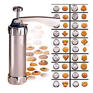 رخيصةأون أدوات الفرن-الكوكيز الصحافة القاطع أدوات الخبز كعكة البسكويت الصحافة آلة خبز