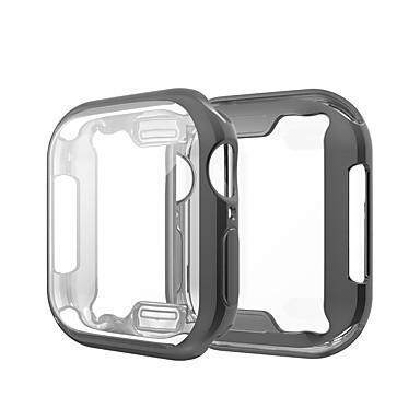 hoesje Voor Apple Apple Watch Series 4 / Apple Watch Series 4/3/2/1 / Apple Watch Series 3 Siliconen Apple
