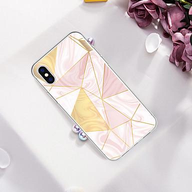 voordelige iPhone 5 hoesjes-hoesje Voor Apple iPhone XS / iPhone XR / iPhone XS Max Patroon Achterkant Marmer Zacht TPU