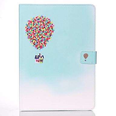 غطاء من أجل Apple ايباد ميني 5 / iPad New Air (2019) / iPad Mini 3/2/1 محفظة / حامل البطاقات / مع حامل غطاء كامل للجسم Balloon قاسي جلد PU