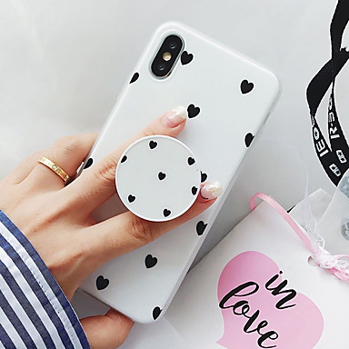 cheap iPhone 5 Cases-Case For Apple iPhone XS / iPhone XR / iPhone XS Max Pattern Back Cover Cartoon Soft TPU