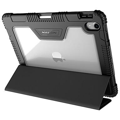 رخيصةأون أغطية أيباد-غطاء من أجل Apple iPad Pro 11'' / iPad Pro 9.7'' ضد الصدمات / مع حامل / قلب غطاء كامل للجسم لون سادة قاسي جلد PU