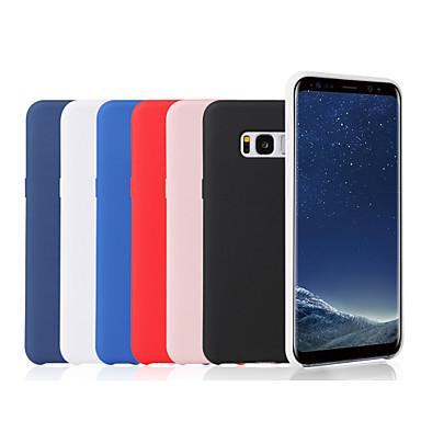 Недорогие Чехлы и кейсы для Galaxy Note-Кейс для Назначение SSamsung Galaxy Note 9 / Note 8 Матовое Кейс на заднюю панель Однотонный Мягкий Силикон