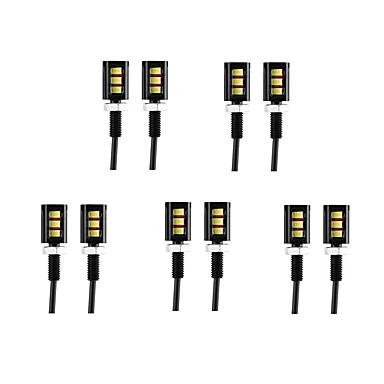 voordelige Motorverlichting-10 stuks Draad verbinding Motor / Automatisch Lampen 3 W SMD 5630 60 lm 3 LED Dagrijverlichting / Nummerplaatverlichting / Richtingaanwijzerlicht Voor