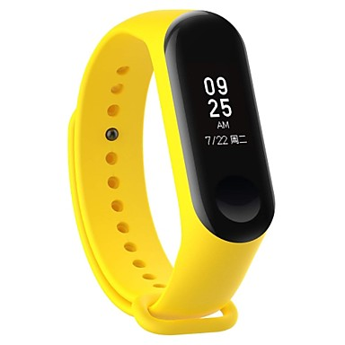 cheap Mobile Phone Accessories-Watch Band for Mi Band 3 Xiaomi Sport Band Rubber Wrist Strap