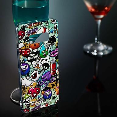 povoljno Maske za mobitele-Θήκη Za Samsung Galaxy S9 / S9 Plus / S8 Plus Sjaji u mraku / Uzorak Stražnja maska Pogled na grad Mekano TPU