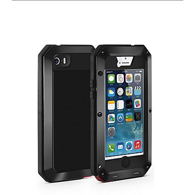 Недорогие Кейсы для iPhone 6-Кейс для Назначение Apple iPhone XS / iPhone XR / iPhone XS Max Защита от удара / Защита от пыли / Защита от влаги Чехол броня Мягкий Металл