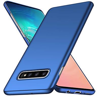 voordelige Galaxy S-serie hoesjes / covers-hoesje Voor Samsung Galaxy S9 / S9 Plus / S8 Plus Mat Achterkant Effen Zacht PC
