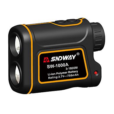 sndway sw-600a / 1000a / 1500a teleskopski laserski daljinomjer 600m / 1000m / 1500m s funkcijom mjerenja razlike u brzini s funkcijom mjerenja visinske razlike vodootporan optički 7 puta