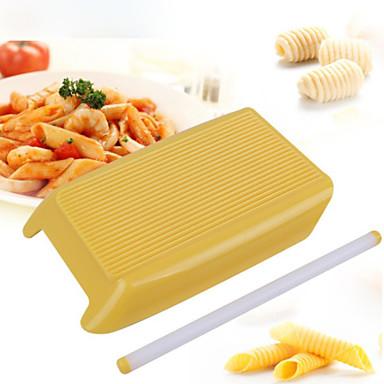 رخيصةأون أدوات الفرن-1PC بلاستيك متعددة الوظائف اصنع بنفسك لالمكرونة مستطيل شوبك أدوات المعكرونة أدوات خبز