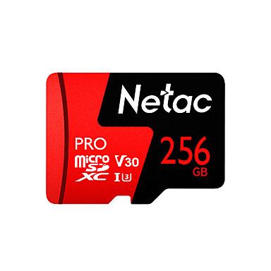 olcso SD-kártya-Netac 256GB Memóriakártya UHS-I U3 / V30 P500pro