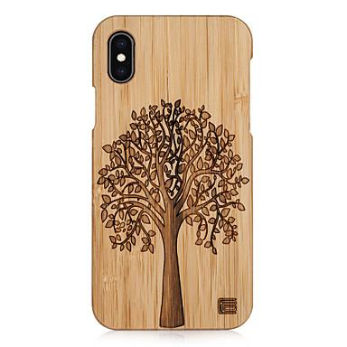 voordelige iPhone-hoesjes-hoesje Voor Apple iPhone XS / iPhone XR / iPhone XS Max Reliëfopdruk Achterkant Boom Hard Puinen