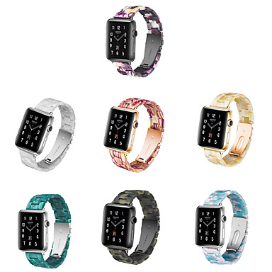 voordelige Smartwatch-accessoires-Horlogeband voor Apple Watch Series 5/4/3/2/1 Apple Butterfly Buckle Keramiek Polsband