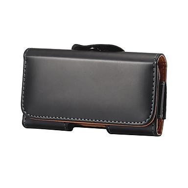 voordelige Universele hoesjes & tasjes-4/5 inch koffer voor universele kaarthouder heuptas / heuptas stevig gekleurd zacht pu leer