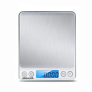 0.1g-2000g prijenosni mini elektronički digitalni razmjera džepni slučaj poštanske visoke preciznosti kuhinje nakit težine