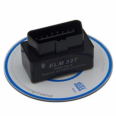 voordelige OBD-iep 327 v2.1 obdii mini bluetooth obd2 auto diagnostische scanner voor Android obd 2 codelezer diagnostisch hulpmiddel