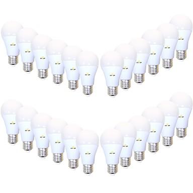 olcso LED izzók-EXUP® 24db 9 W LED gömbbúrás izzók 850 lm B22 E26 / E27 A19 26 LED gyöngyök SMD 2835 Kreatív Dekoratív Szabadság Meleg fehér Hideg fehér 220-240 V 110-130 V