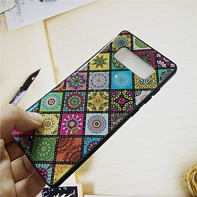 voordelige Galaxy S-serie hoesjes / covers-hoesje Voor Samsung Galaxy S9 / S9 Plus / S8 Plus Patroon Achterkant Luipaardprint / Bloem Zacht silica Gel