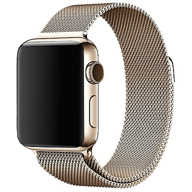 Horlogeband voor Apple Watch Series 4/3/2/1 Apple Milanese lus Roestvrij staal Polsband