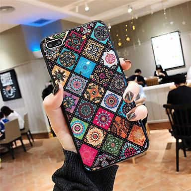 voordelige iPhone X hoesjes-hoesje Voor Apple iPhone XS / iPhone XR / iPhone XS Max Patroon Achterkant Luipaardprint / Bloem Zacht silica Gel